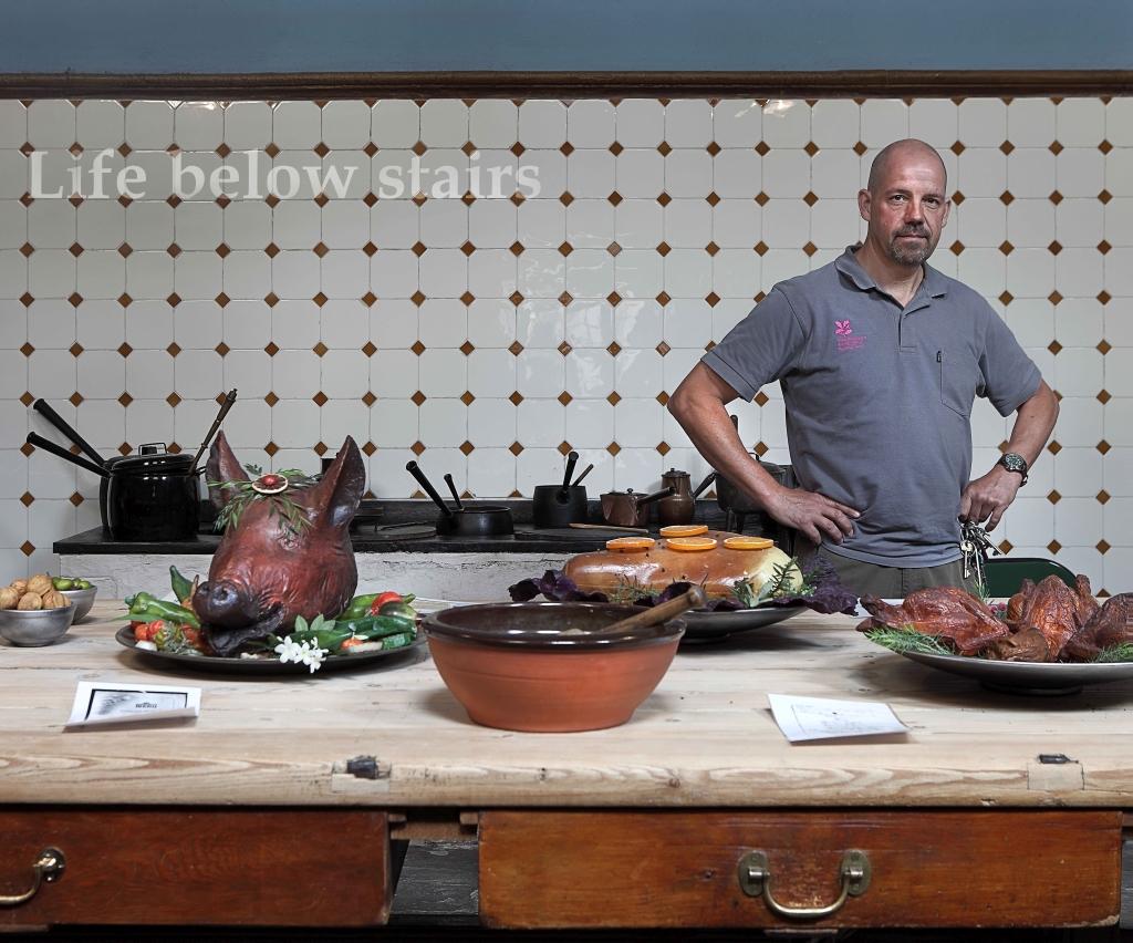 Arturas Valiauga_In the Kitchen_Tredegar House